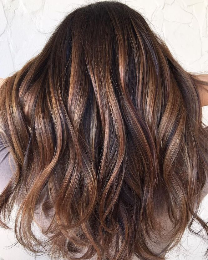 Dark brown hair with caramel highlights the best hair 2017 brute with caramel highlights dark brown hair color pmusecretfo Gallery