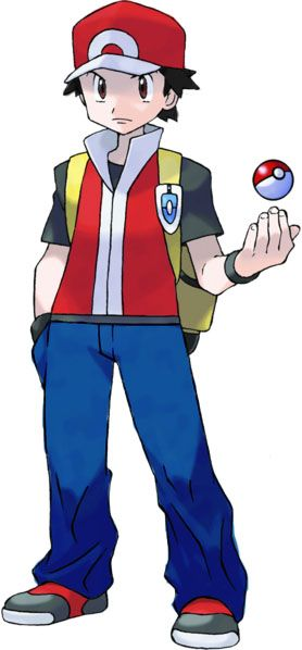 Image result for pokemon trainer red