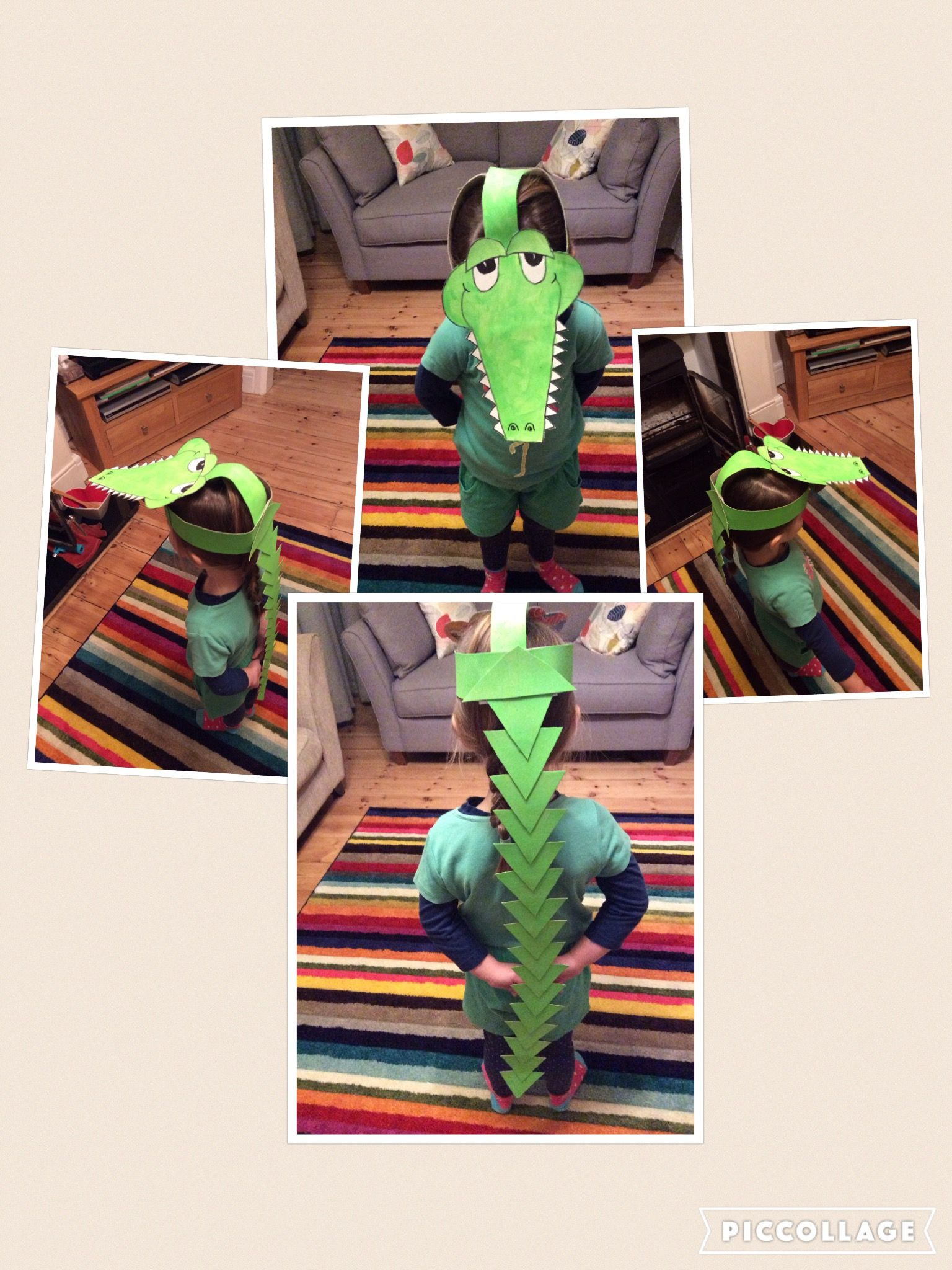 The Enormous Crocodile Costume Roald Dahl Dressing Up Day