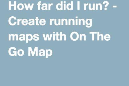 Best Home Design Map Google Run - How far did i run map