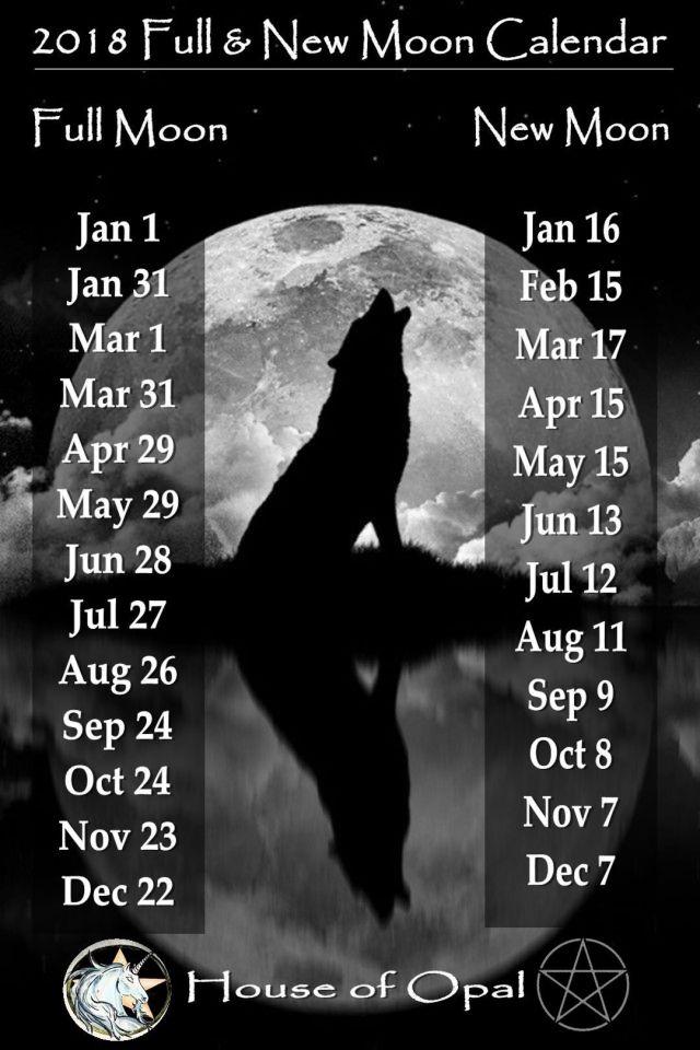 2018 full new moon calendar moon pinterest moon