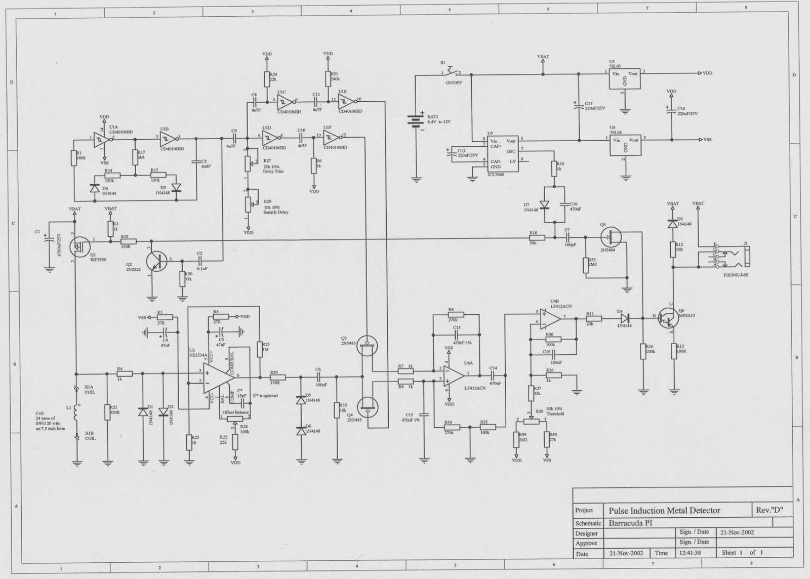 Pulse Detector Schematic
