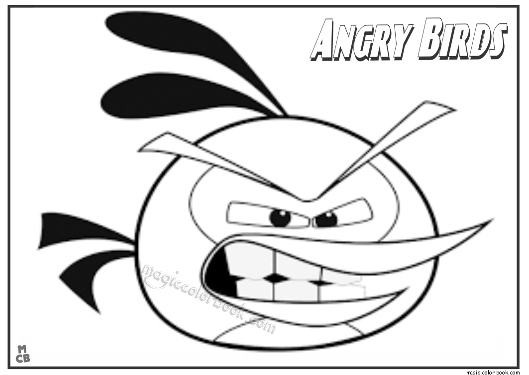 Pin By Magic Color Book On Angry Birds Coloring Pages Pinterest
