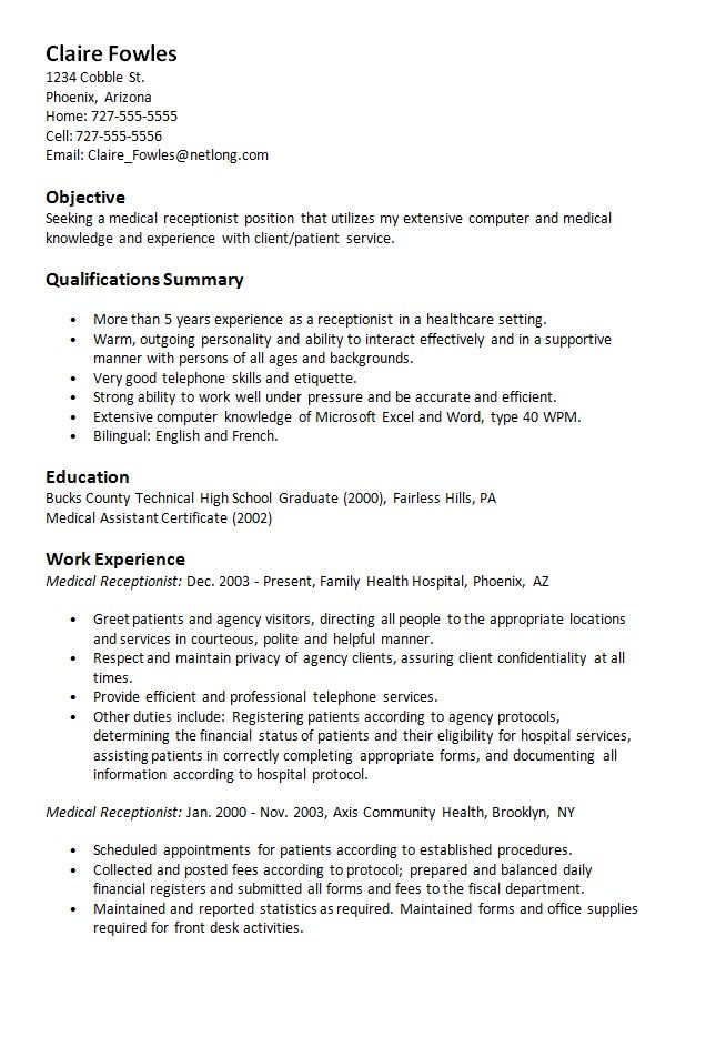 Medical office administrator resume samples and examples of curated bullet points for your resume to help you get an interview. Resume Objective For Medical Office Administration Medical Office Administrative Assistant Resume Objective