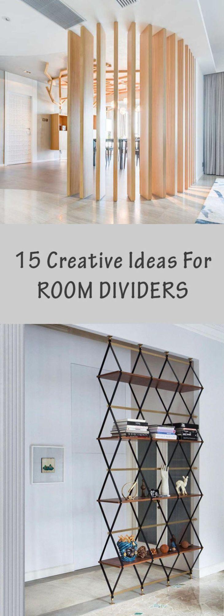 Creative Ideas For Room Dividers DIY Room Divider Ideas
