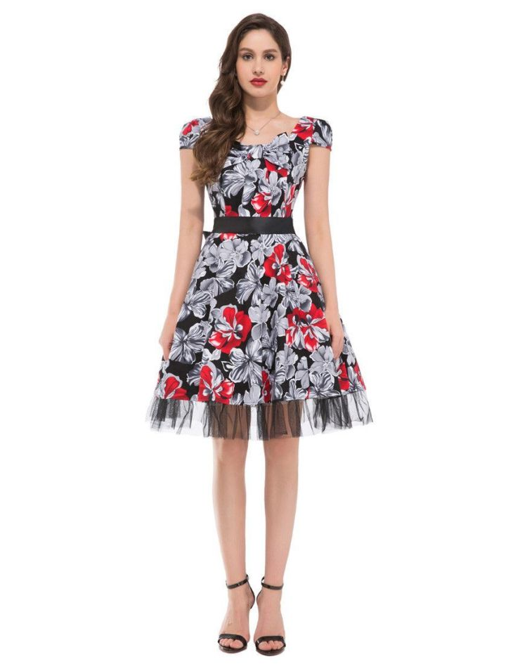 Grace Karin s s Cap Sleeve Cotton Ball Short Prom Party