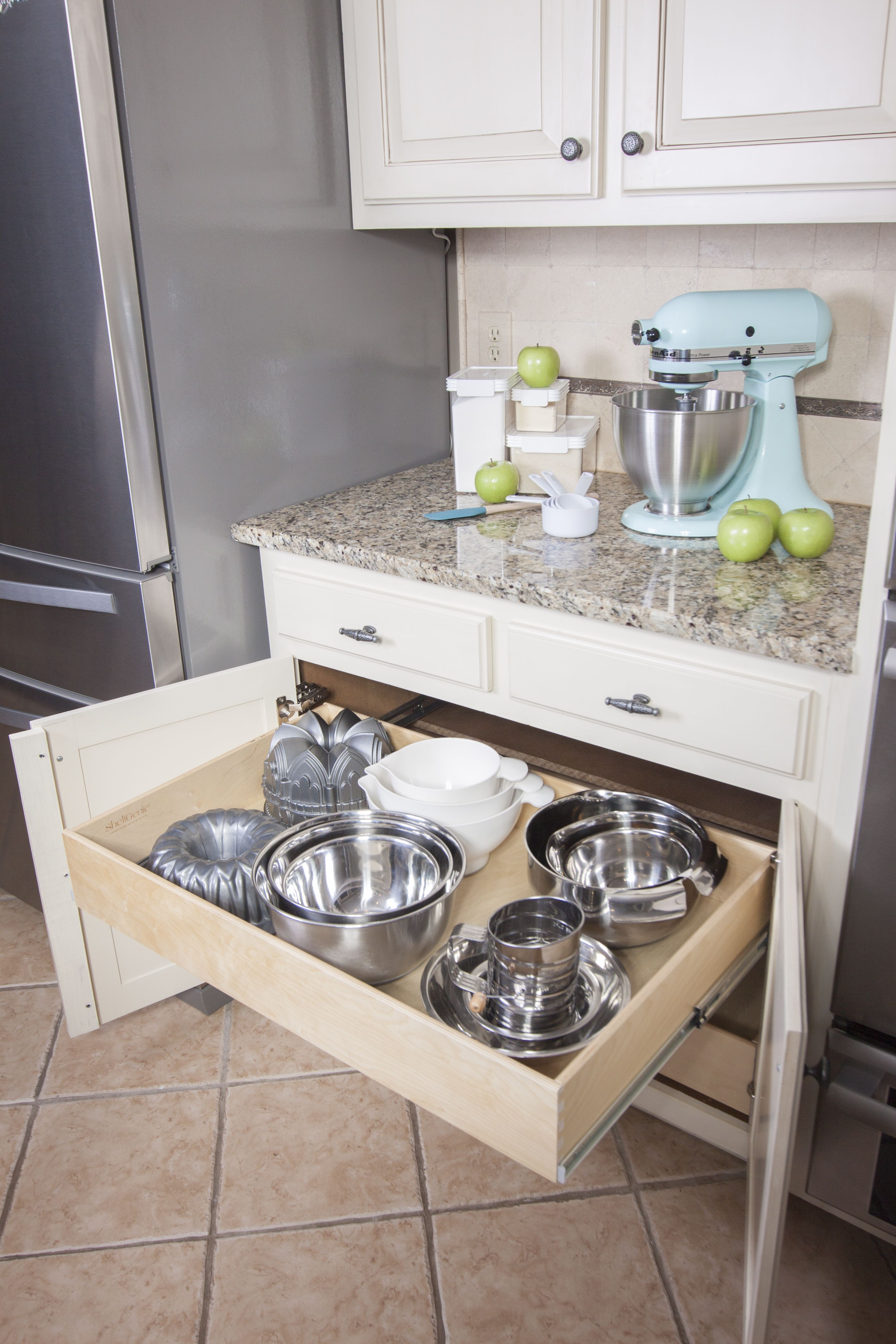 establish kitchen zones for food prep like baking supplies and baking accessories kitchen on organizing kitchen cabinets zones id=13038