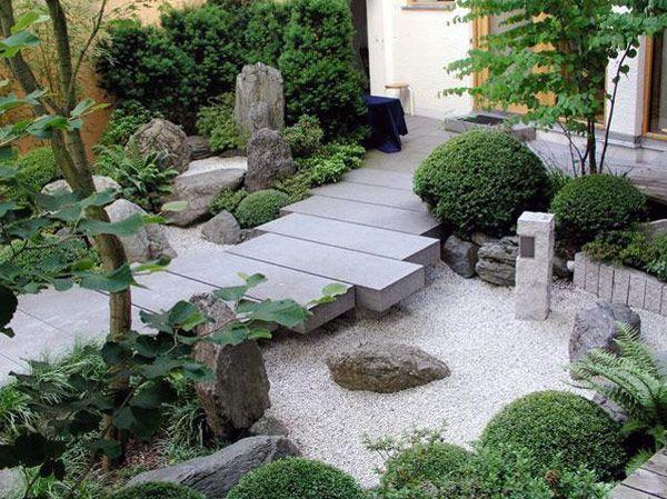 japanese inspired gardens Modern Japanese Garden on Pinterest | Japanese Garden