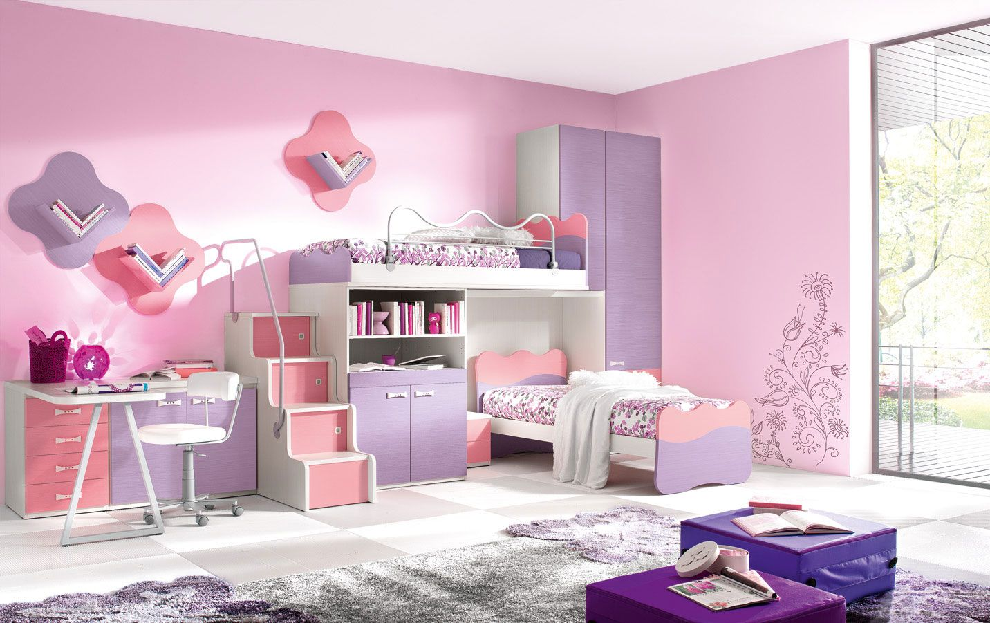 toddler furniture for girls | Bedroom design, Kids Bedroom ... on Beautiful Rooms For Girls  id=93664