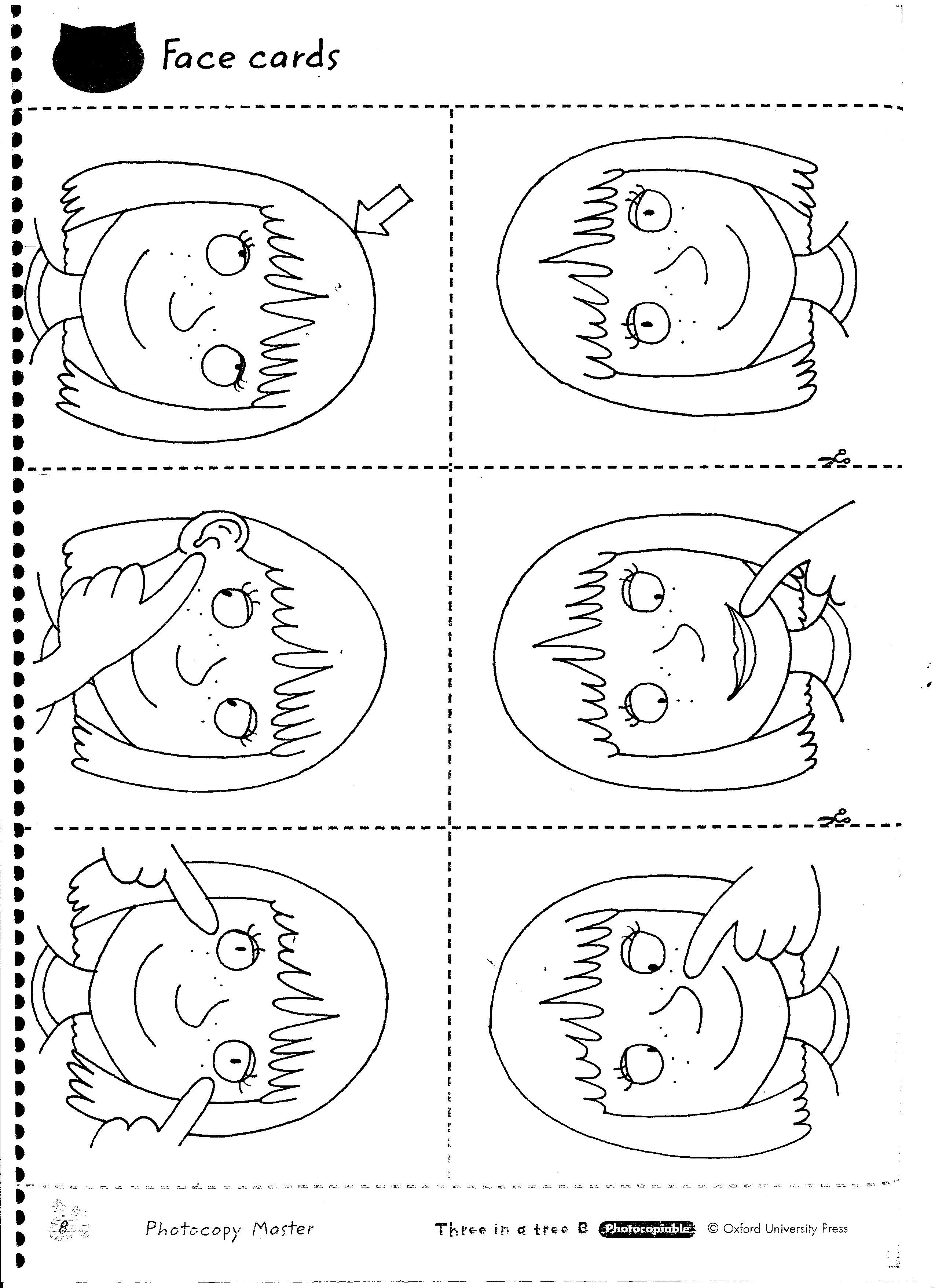 Head And Shoulders Knees And Toes Worksheet