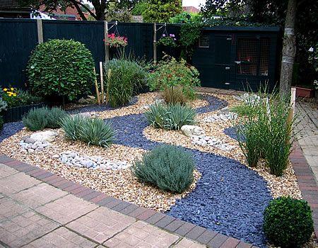 slate garden landscaping slate gravel garden - Google Search | Outside deco/garden