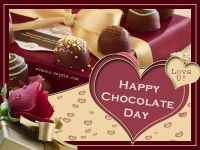 happy chocolate day for love