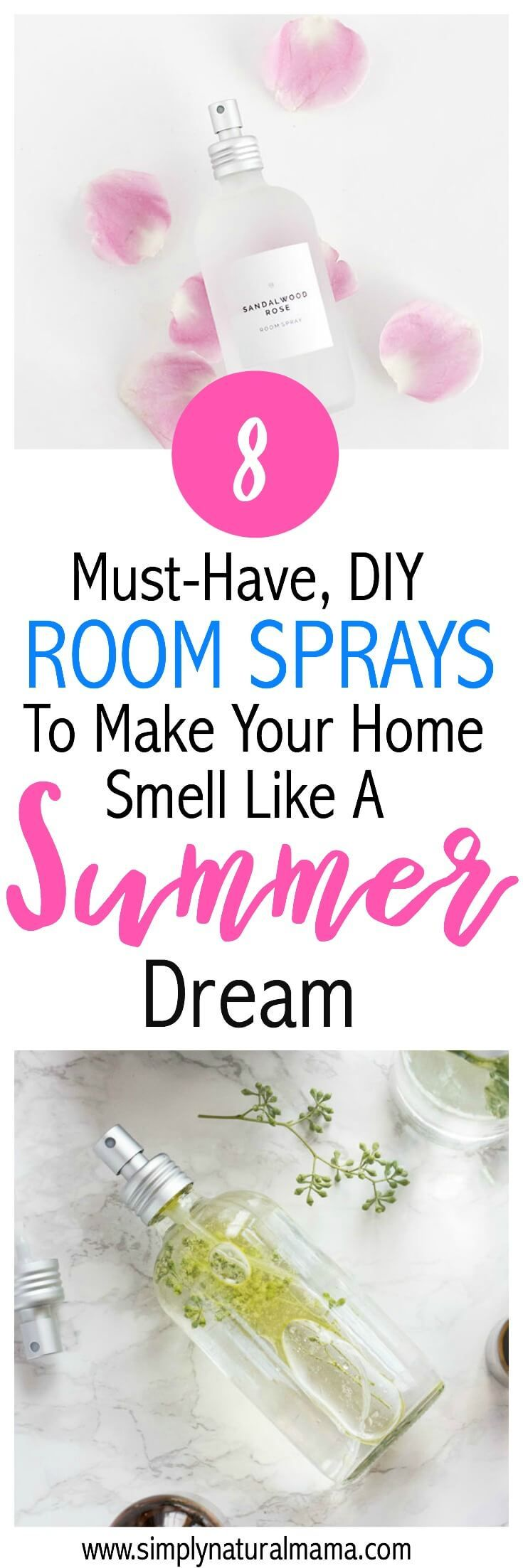 Wow!  This was an awesome list of room sprays!  I can't wait to make these this summer and have my house smell like a tropical