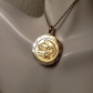 Vintage aquarius gold astrology zodiac necklace aquarius zodiac