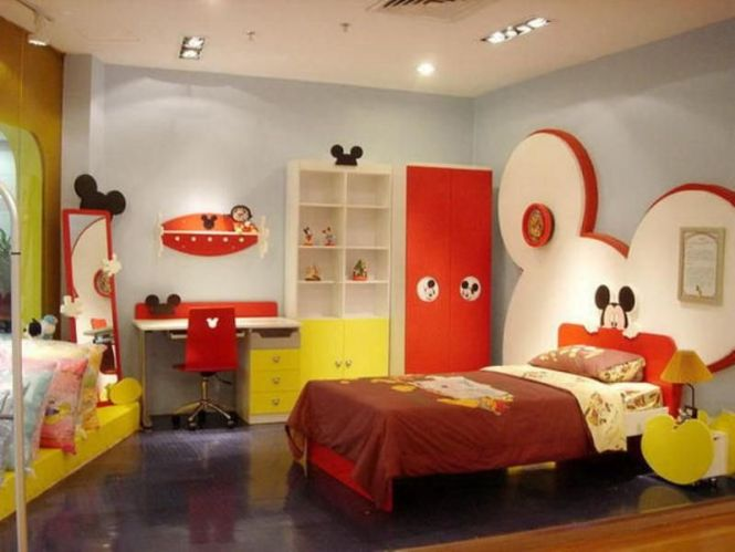mickey mouse bedroom furniture set - bedroom style ideas