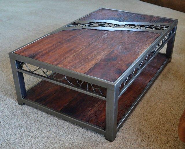 rustic wood and metal coffee table nice on round coffee on stunning wooden metal coffee table id=15388