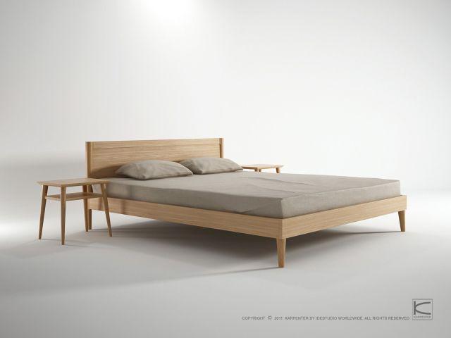 Karpenter Vintage King Size Bed Danish style furniture