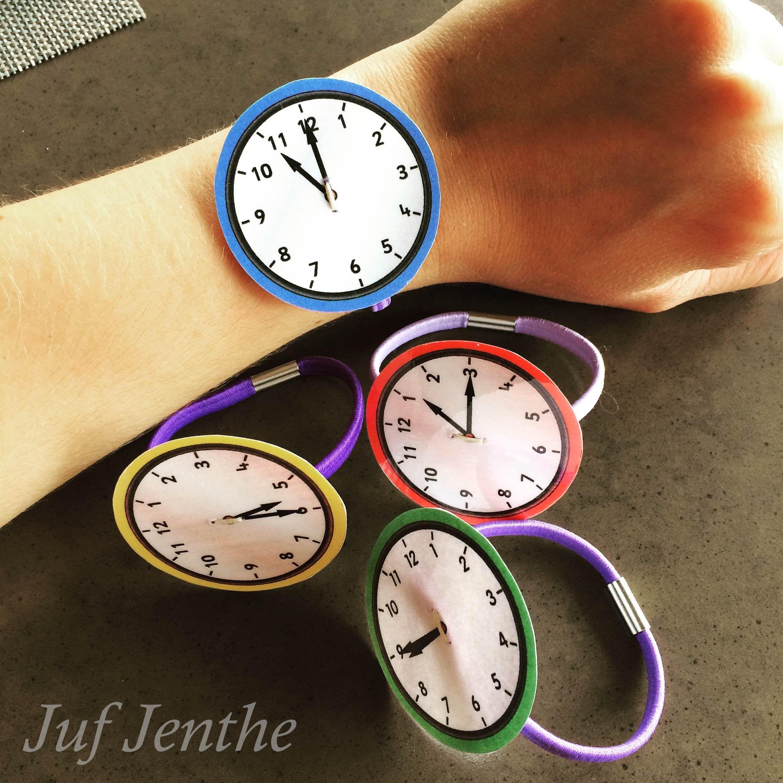 Deoge Klok Spelenderwijs Inoefenen Oefenhorloges