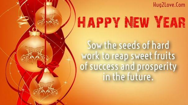 employee new year greetings