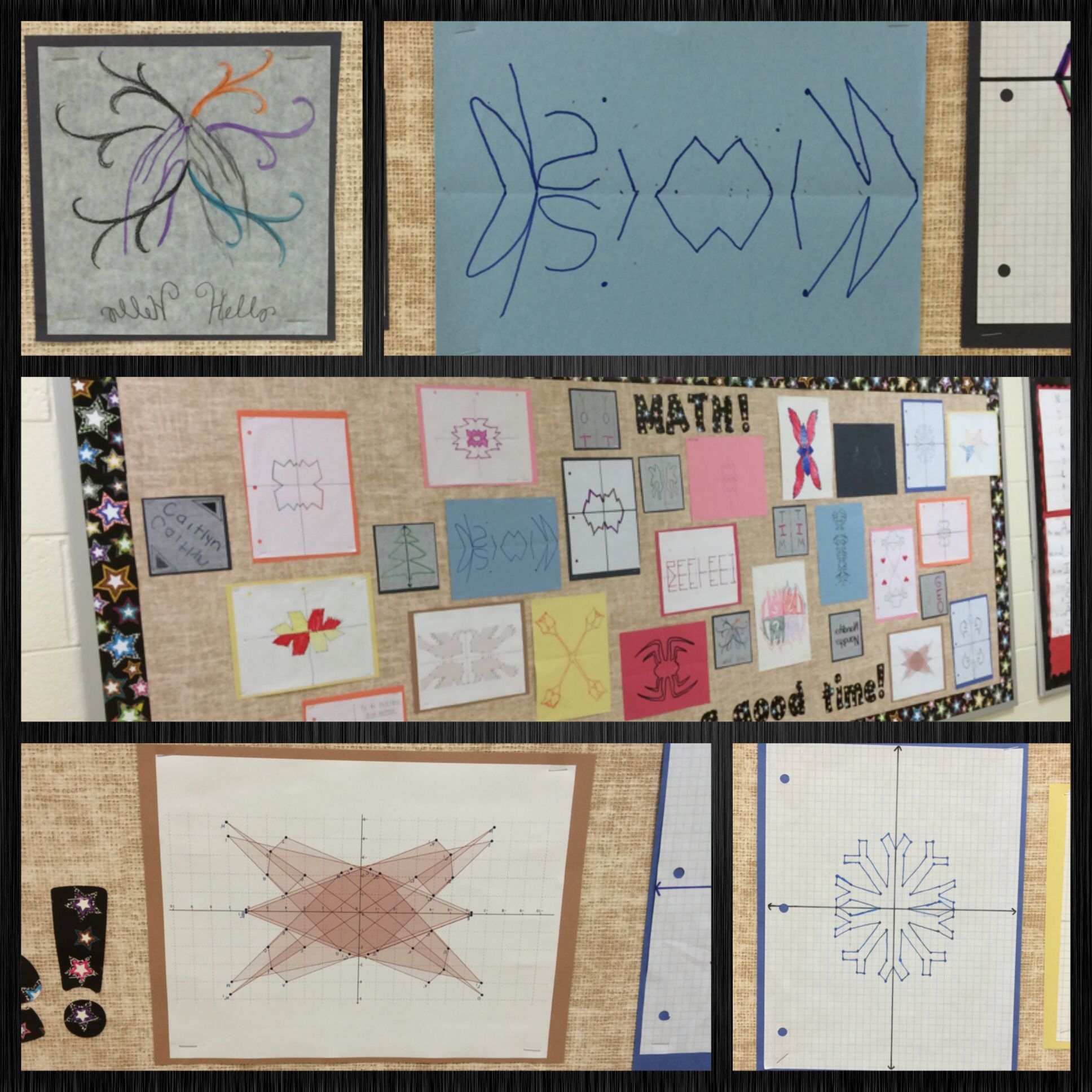 Middle School And High School Geometry Students Created A
