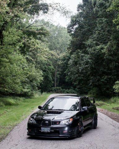 2006 Subaru Impreza Wrx Sti Black