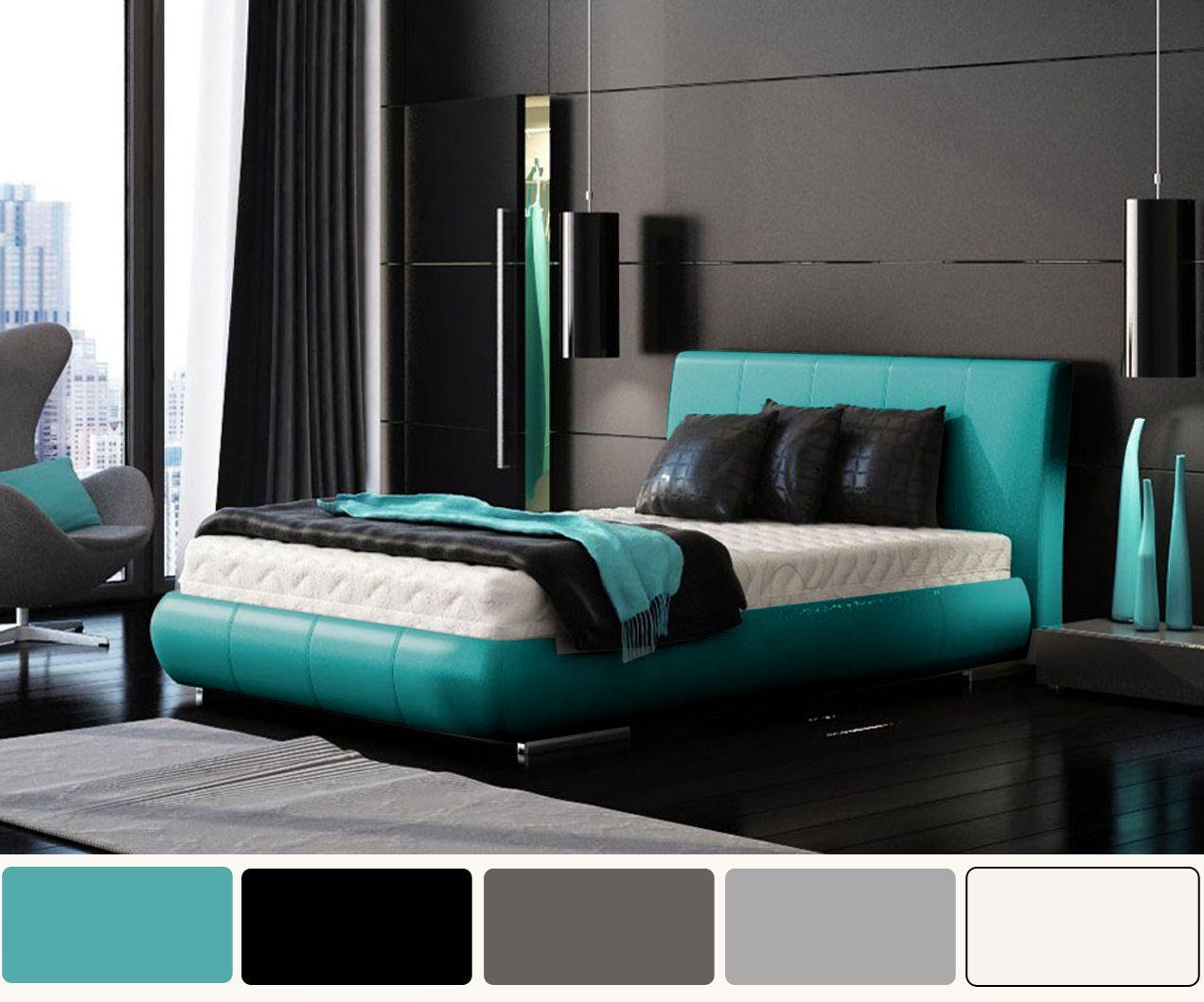 Gray And Turquoise Bedroom Ideas Novocom Top