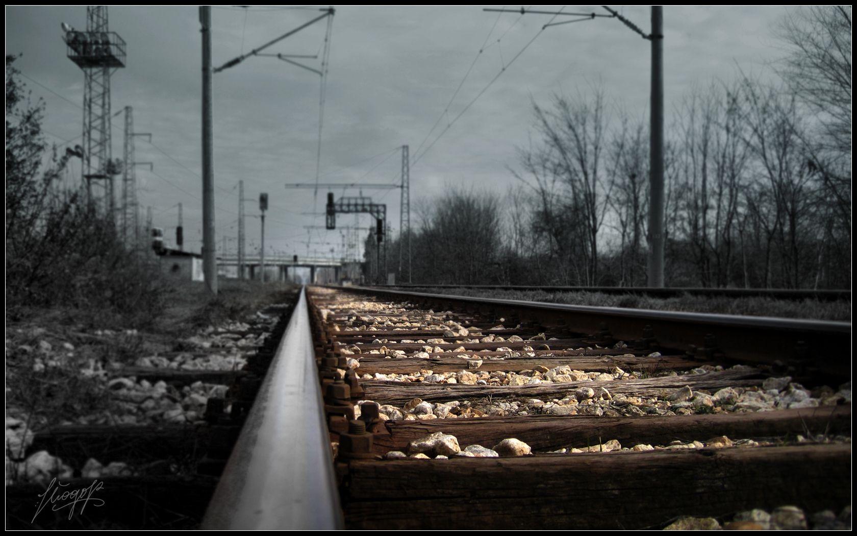 railroad track - google-søk | quadrum | pinterest | wallpaper and
