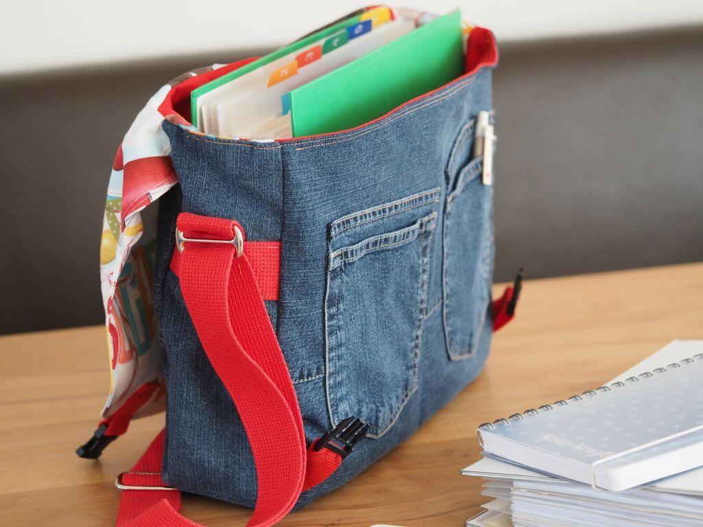 Stoffabbau Und Jeans Upcycling Passen Hervorragend