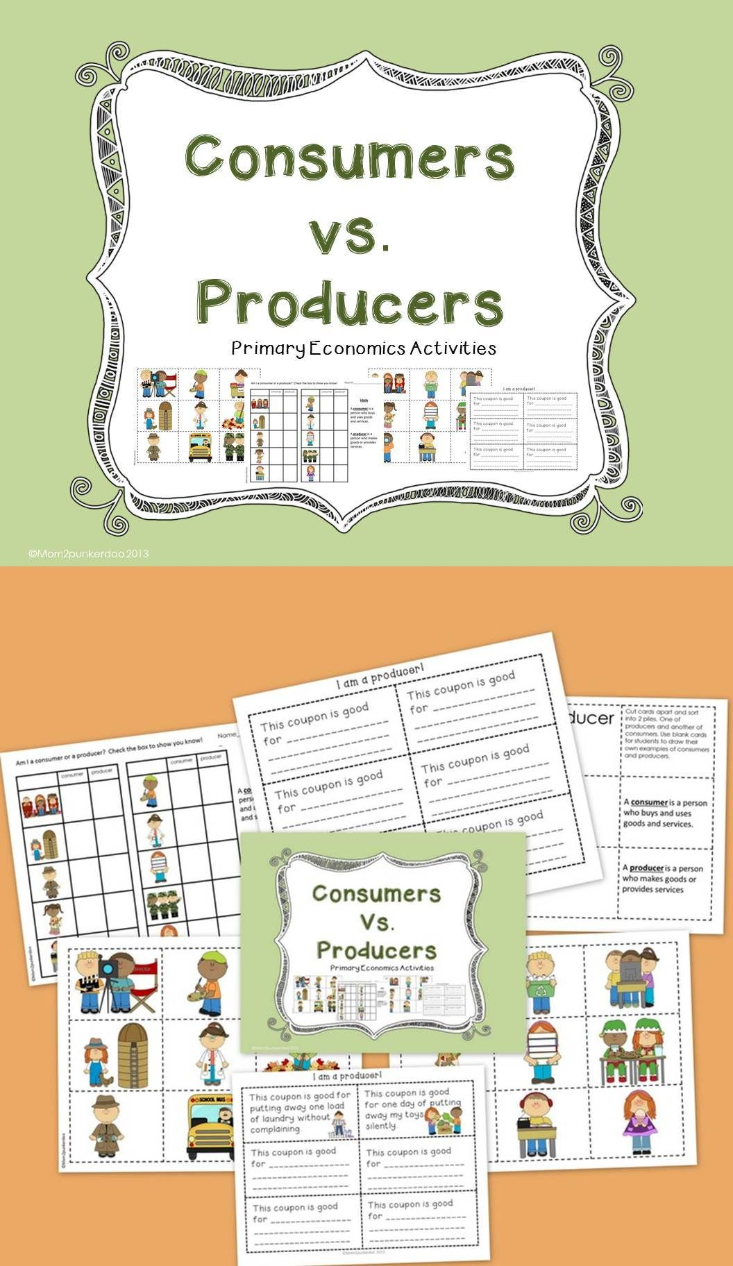 Consumers And Producers Personal Finance And Economics