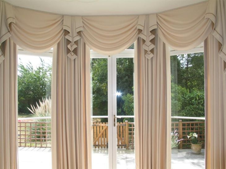 Swag Curtains For Living Room regarding Aspiration Check more at