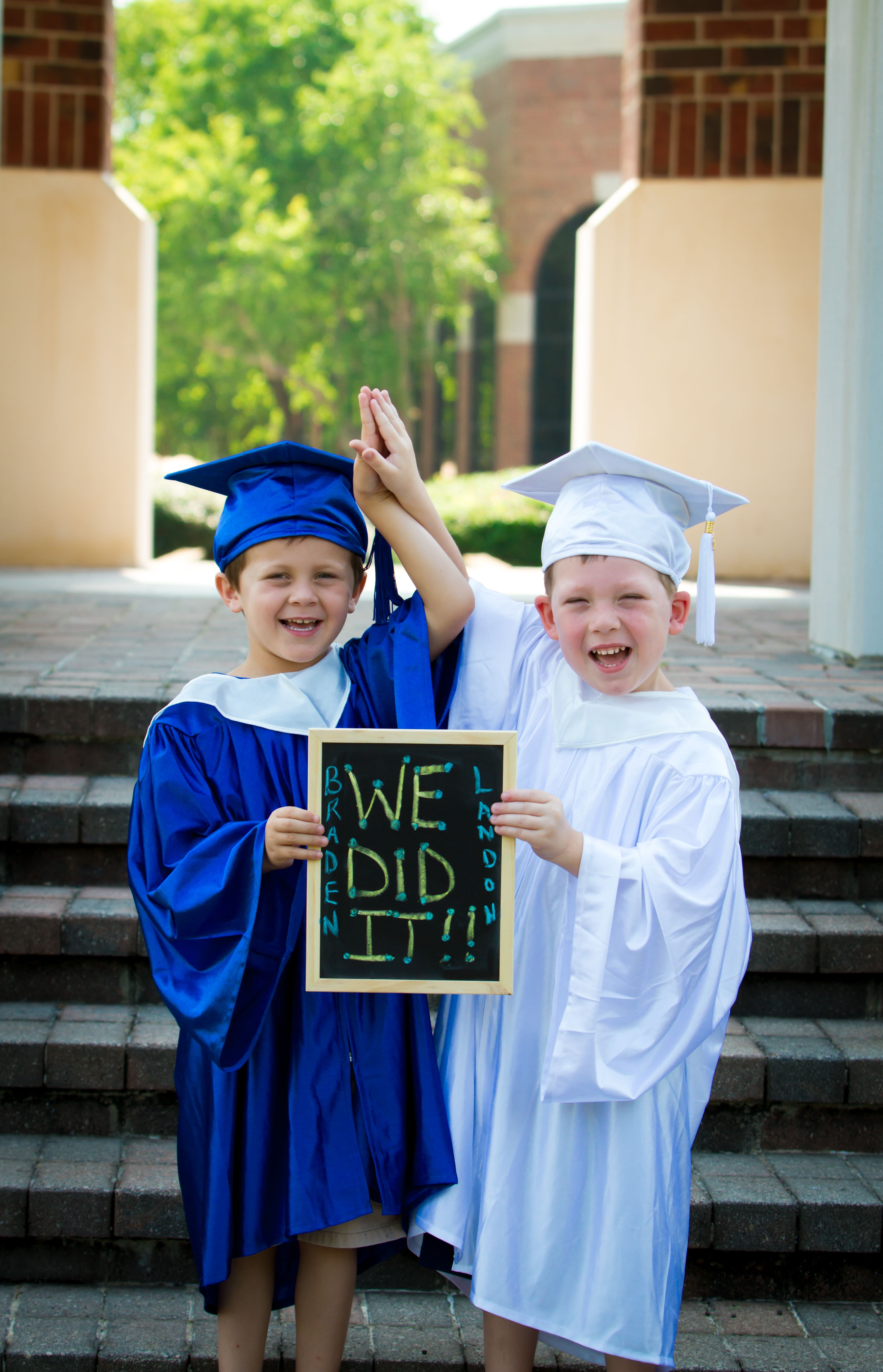 Cousins Graduating Pre K I Will Recreate This Picture For