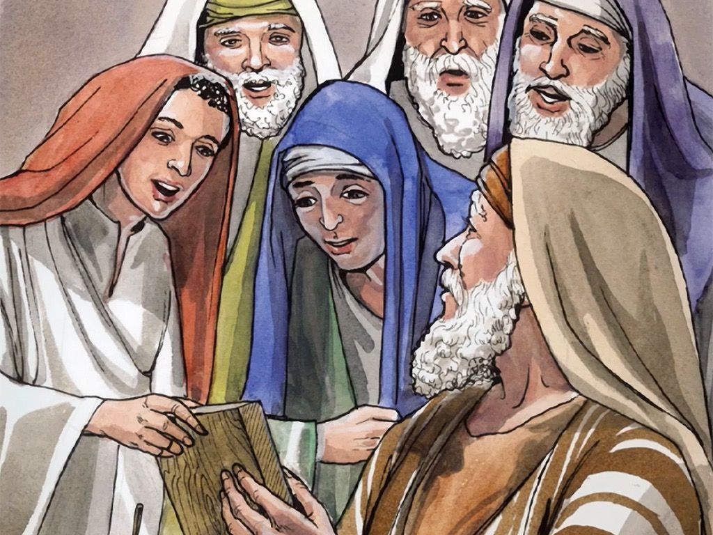 Free Visuals Birth Of John The Baptist Zechariah And Elizabeth Have A Baby Just As God Had