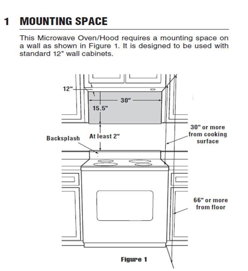 microwave microwave dimensions