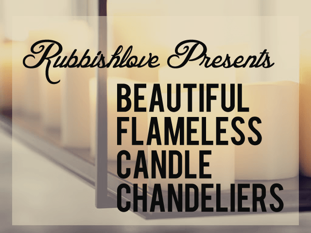 All About Our New Venture Flameless Candle Chandeliers