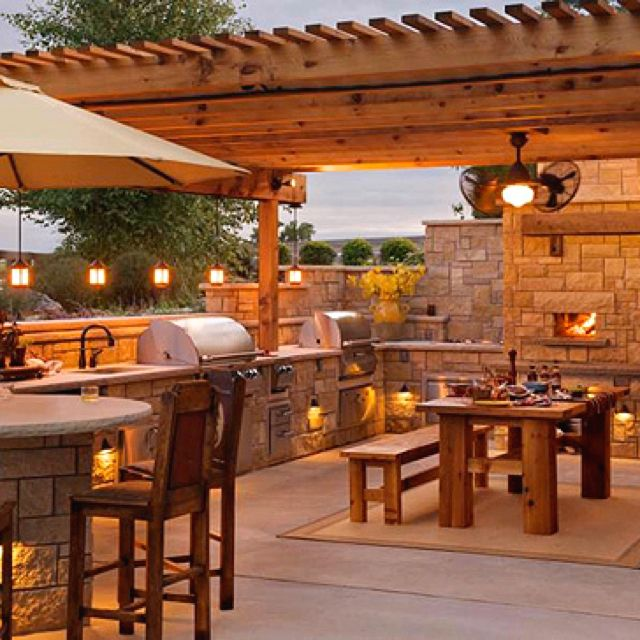 great outdoor kitchen complete with pizza oven design devine pinterest oven pizzas and on outdoor kitchen id=21584