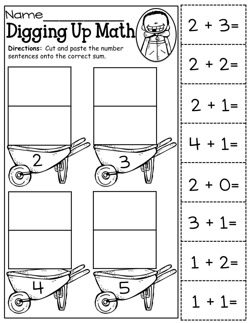 Kindergarten Worksheets Cutting S Kindergarten Best Free