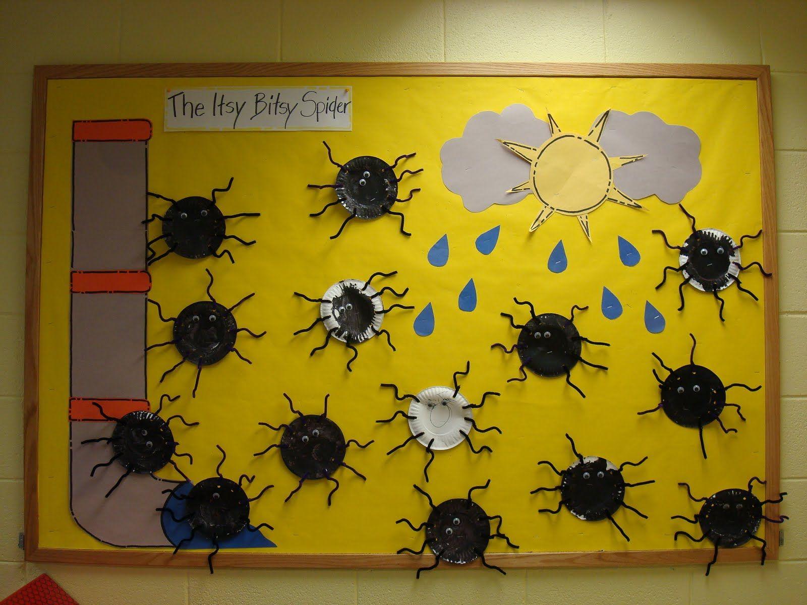 Trinity Preschool Mp Willow Room Itsy Bitsy Spider Art