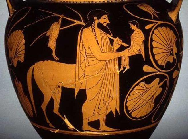 Image result for achilles and chiron