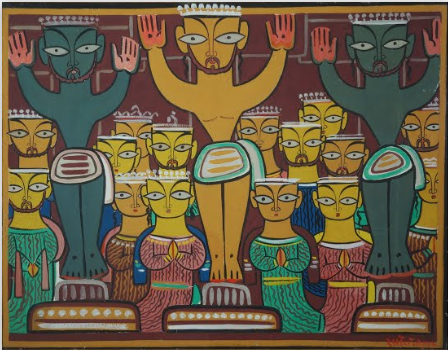 jamini roy activity sheet