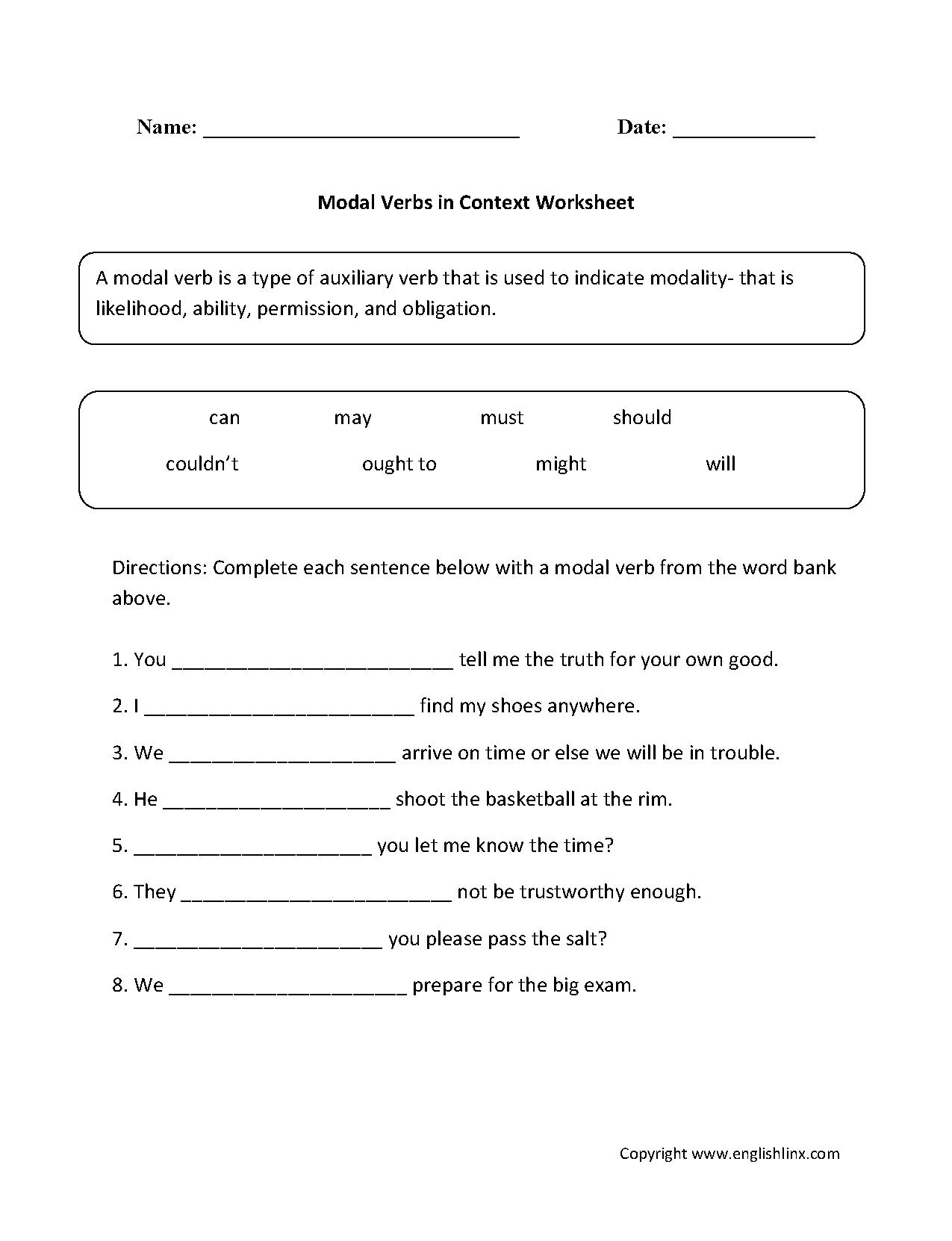 Verbs Worksheet Twinkl