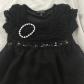 Little girls long black dress shirt long black stunning