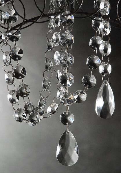 Create Sparkling Decorations With This Glass Crystal Garland Teardrop Crystals Is A Heavy The