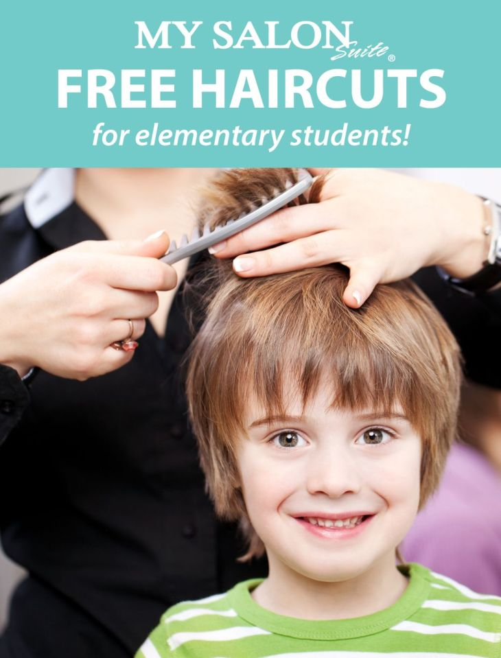 Many of our salons are offering free back to school haircuts to