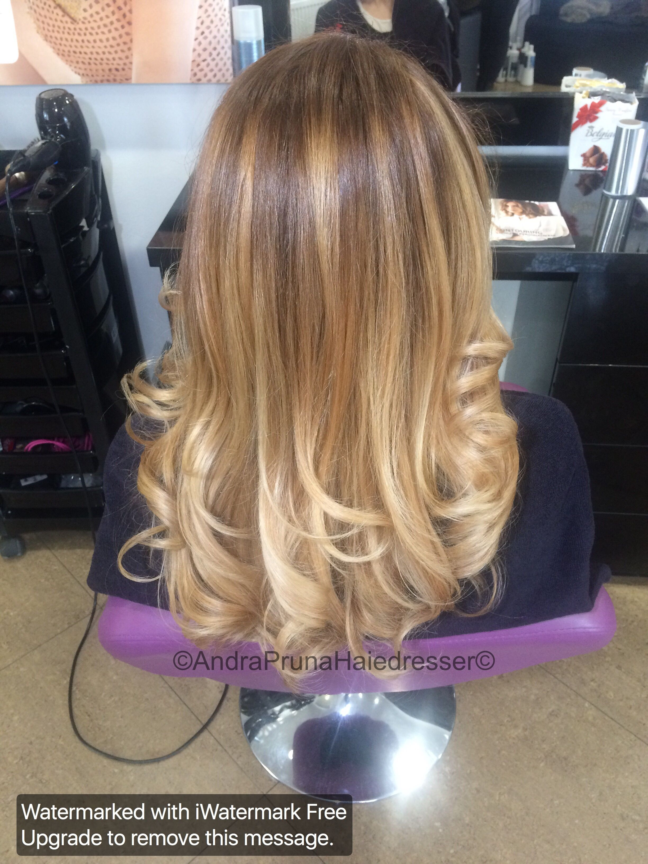 Highlights Brown roots & lighter ends Ombre balayage