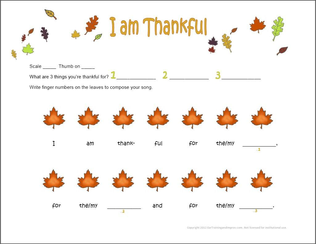 Here S A Fun Thanksgiving Piano Composition Activity For