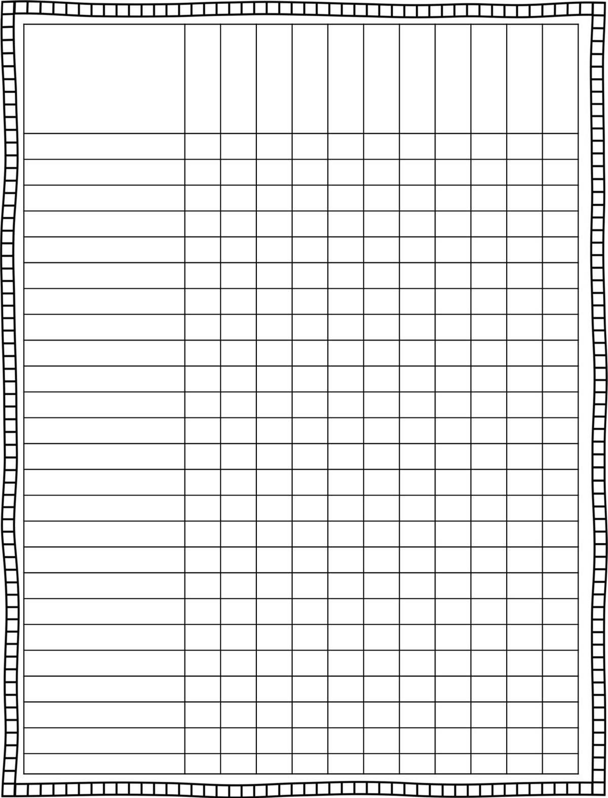 Classroom Schedule Template For Teachers
