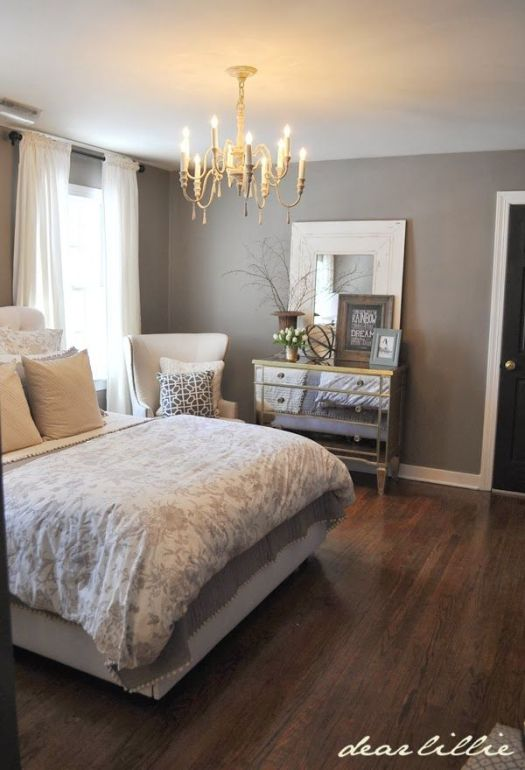 Dear Lillie Our Gray Guest Bedroom And A Full Source List Wall Color Benjamin Moore Graystone