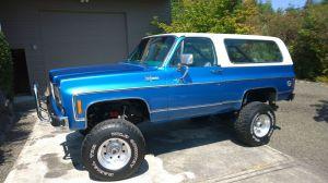 1973 Chevrolet Blazer Blazer K5 4x4 | Bad A$$ Chevy K5