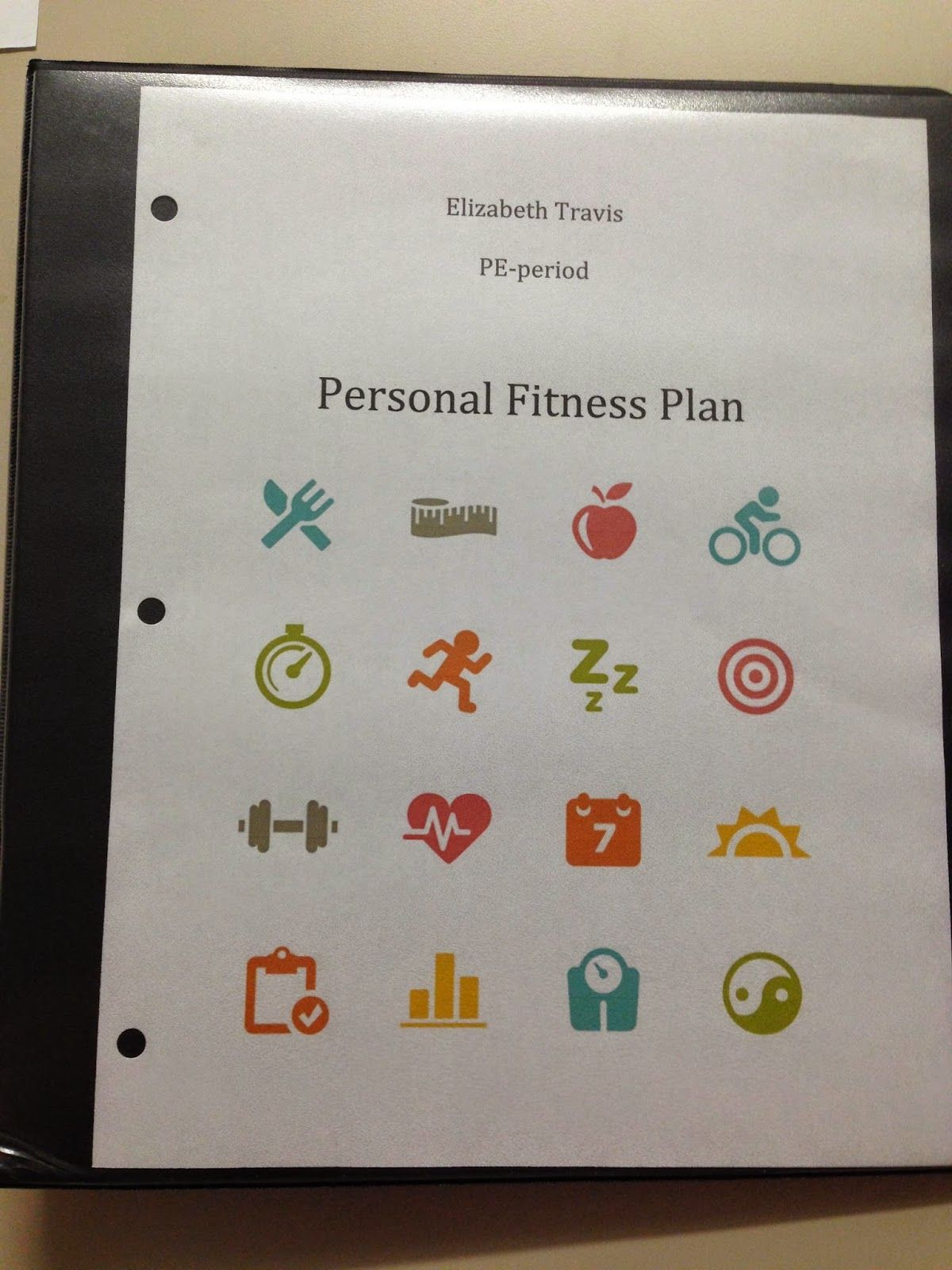 Creating Personal Fitness Plan Lesson Plan For High School