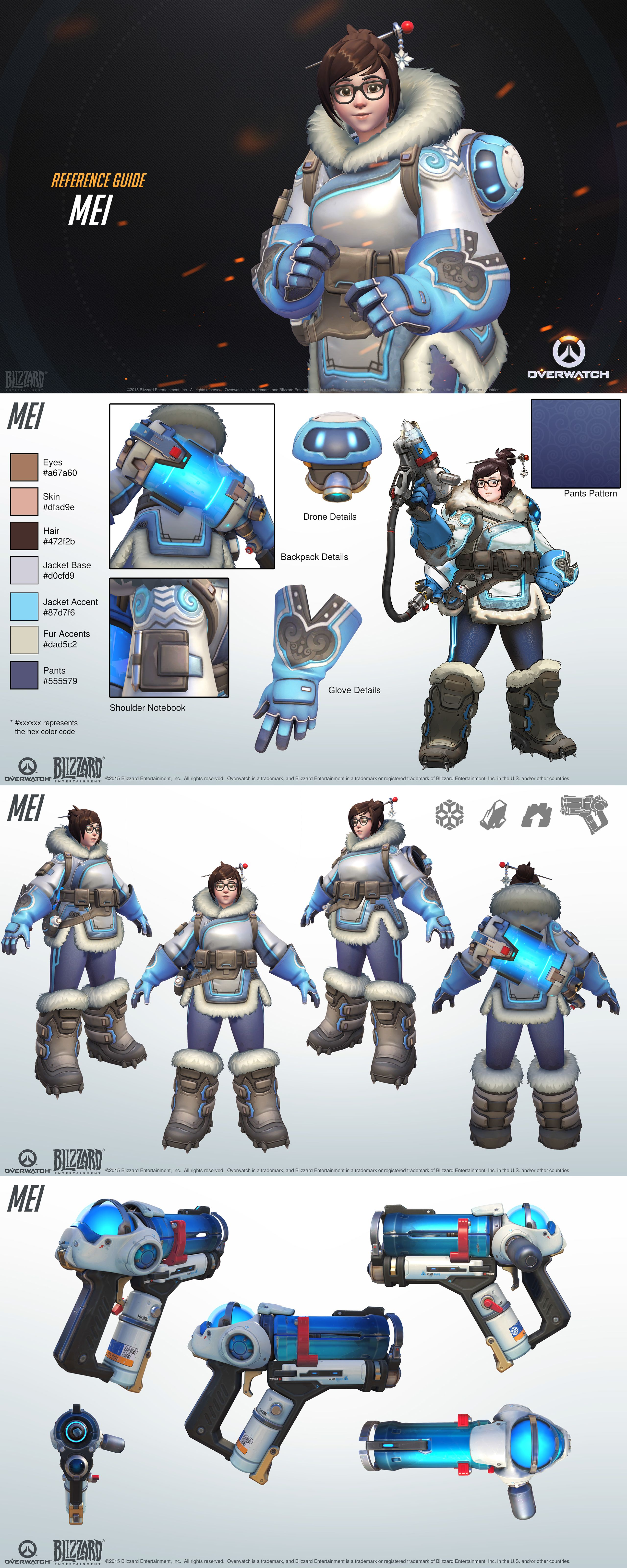 Want To Make Some Overwatch Fan Art Check Out Blizzards Style Guides Slide 2 Overwatch